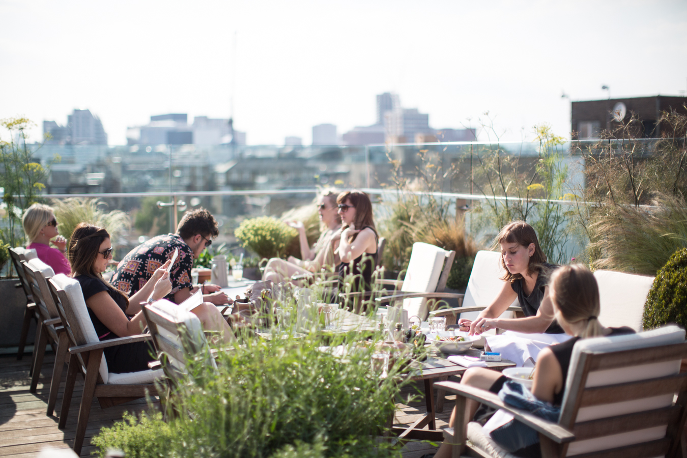 Boundary Rooftop Bar at The Boundary Project