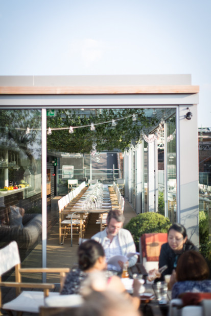 Shoreditch Bars: Boundary Rooftop Bar Shoreditch London Reviews