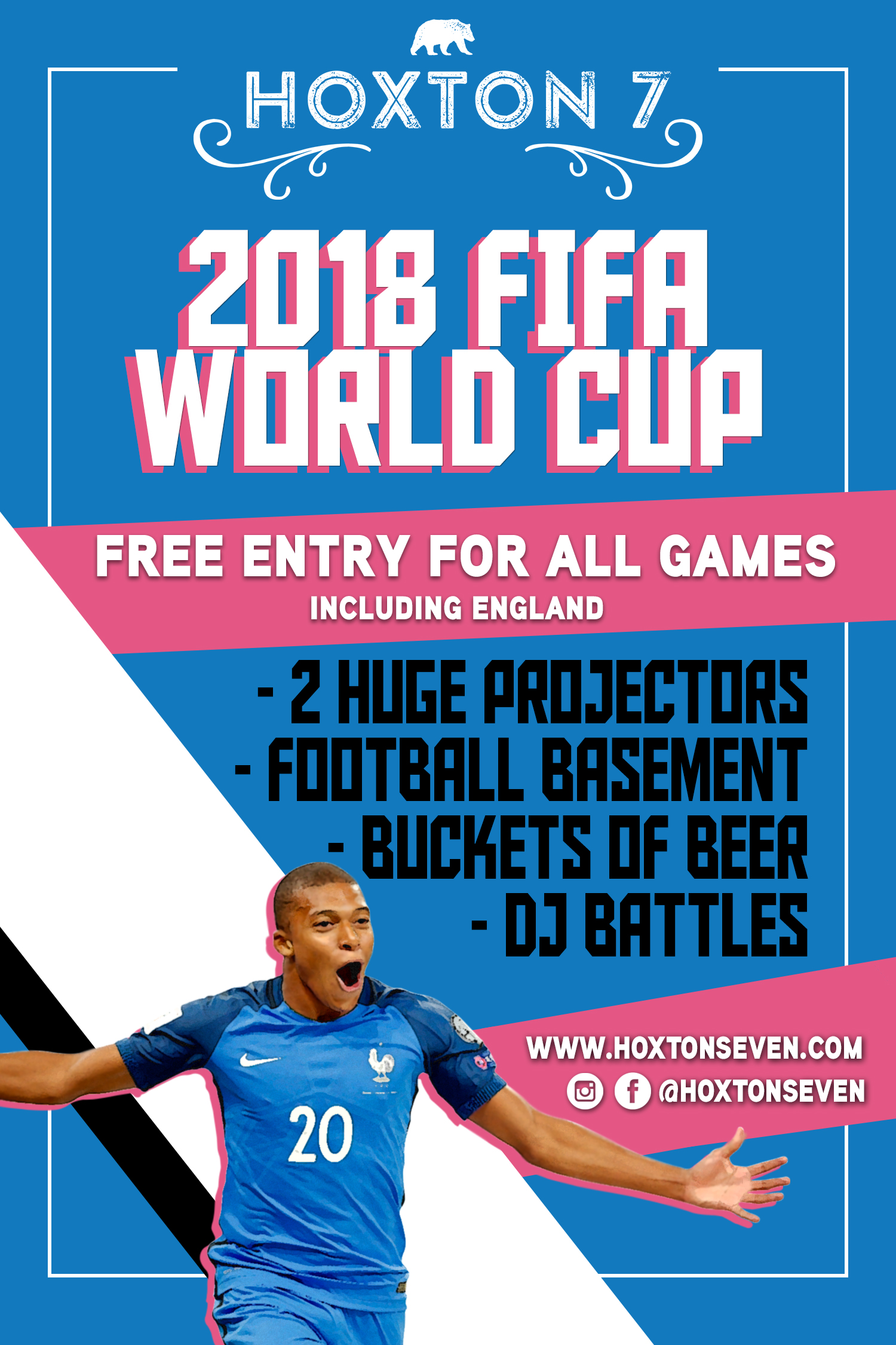 FIFA WORLD CUP 2018 AT HOXTON SEVEN