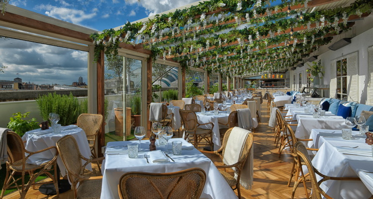 Selfridges rooftop restaurant London San Carlo