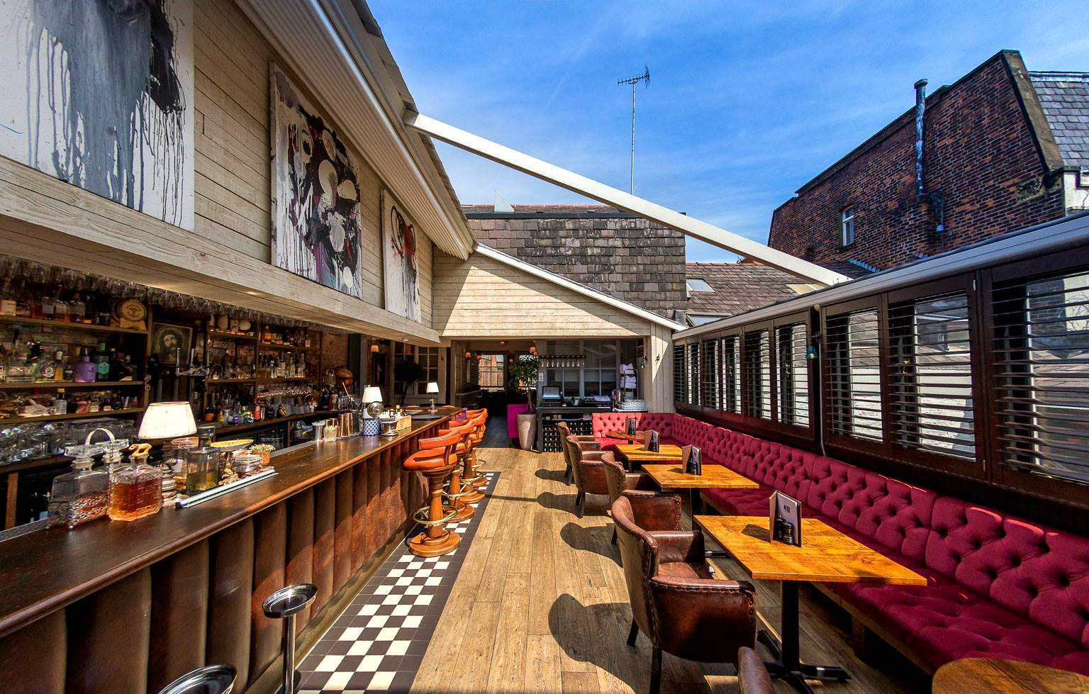 Rooftop bars manchester bars with a view in manchester designmynight