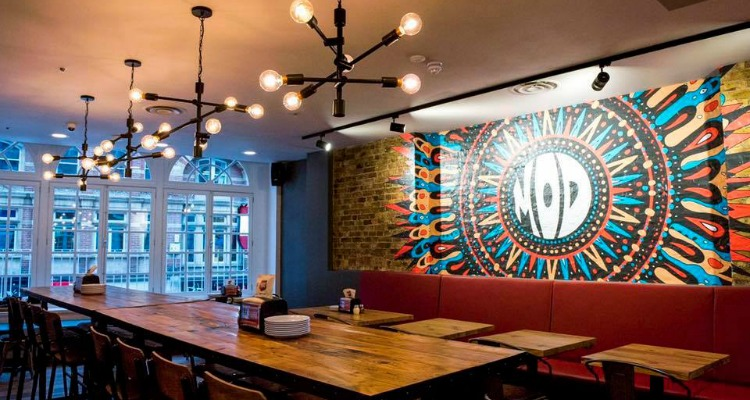 Mod Pizza Leicester Square London Restaurant Review