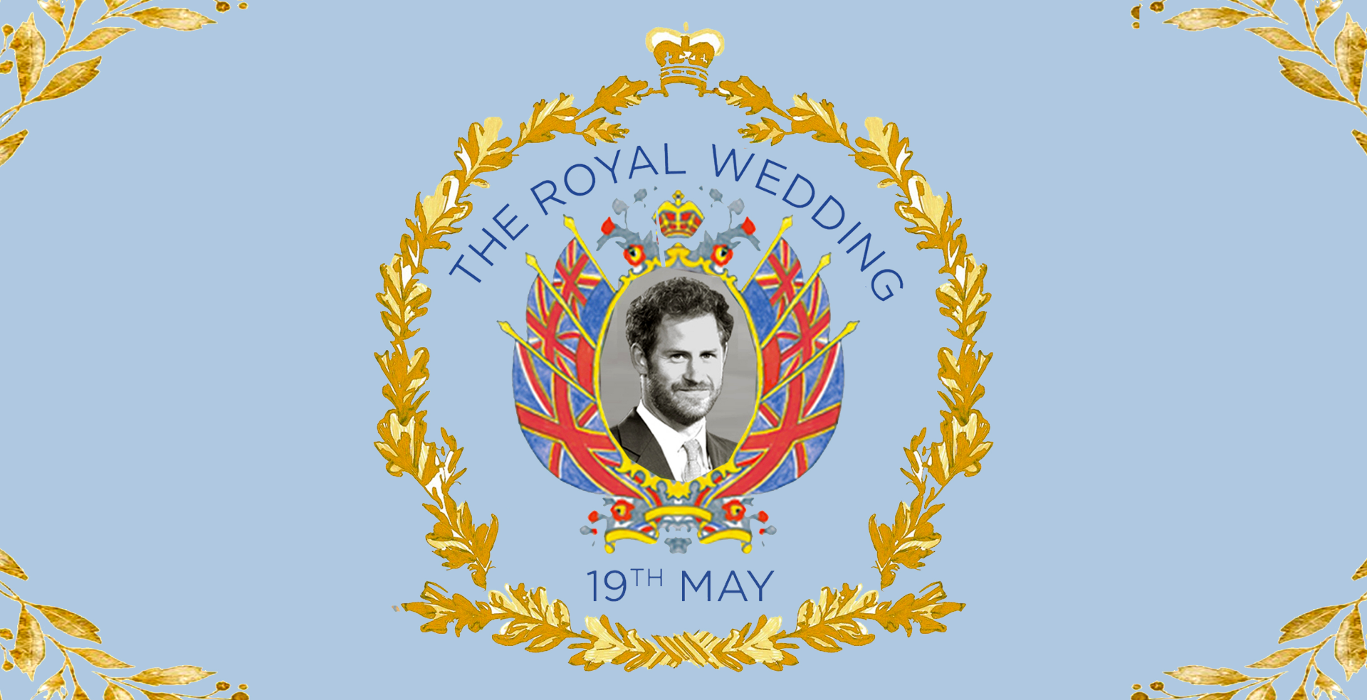 The Royal Wedding Party