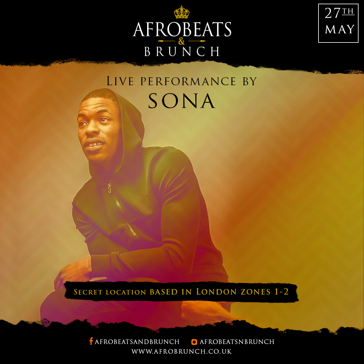 AfroBeat N Brunch - May 27th | London Brunch Reviews