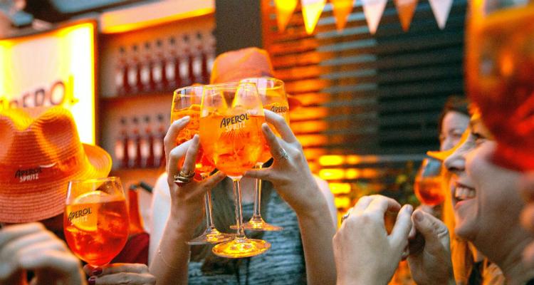The Big Spritz Social Aperol Spritz pop-up