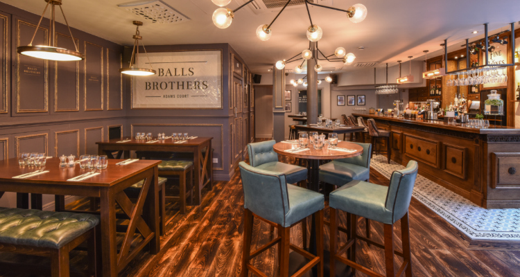 Balls Brothers Adams Court London Restaurant Review