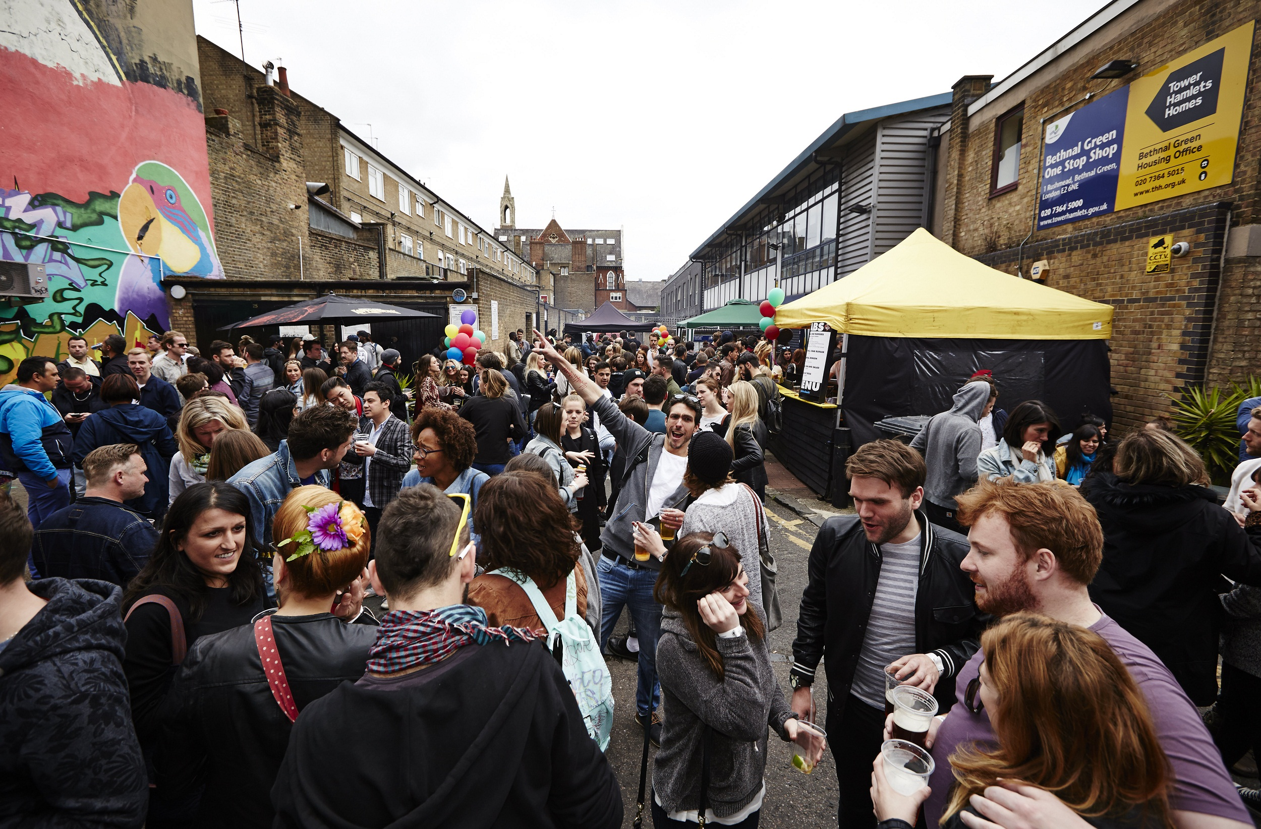 The Star of Bethnal Green's 10th Birthday Street Party