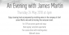 An evening with James Martin