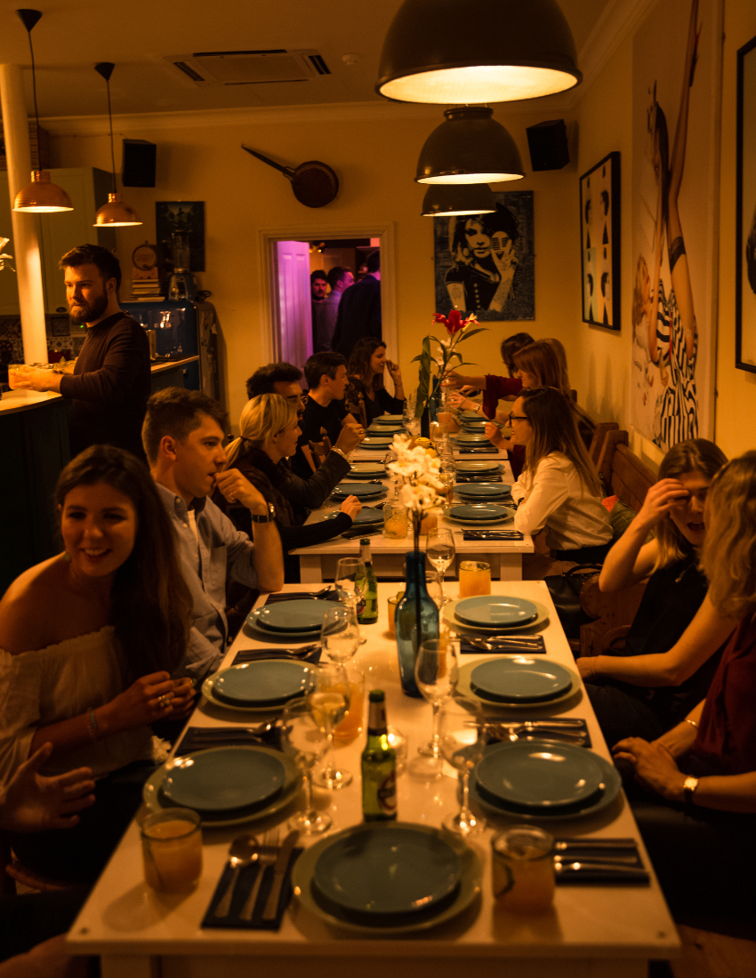 """Dining with Daisy"" Supperclub @The Little Blue Door"