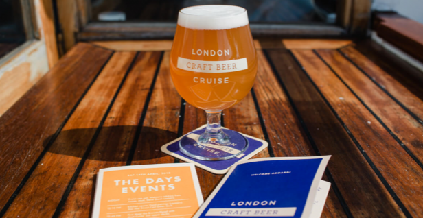 London Craft Beer Cruise April 13th