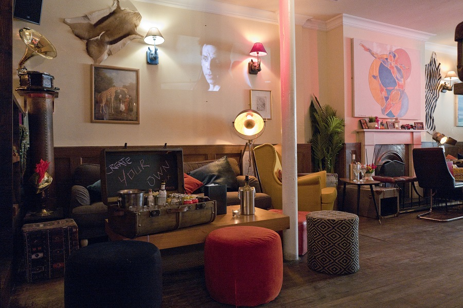 The Little Blue Door London Bar Reviews Designmynight