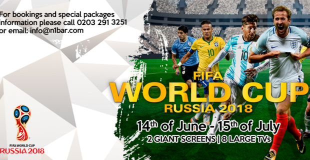 World Cup 2018 at N1 Bar