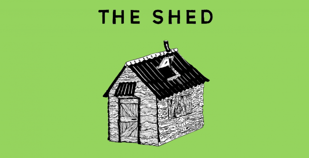 The Shed with Profoundly Blue
