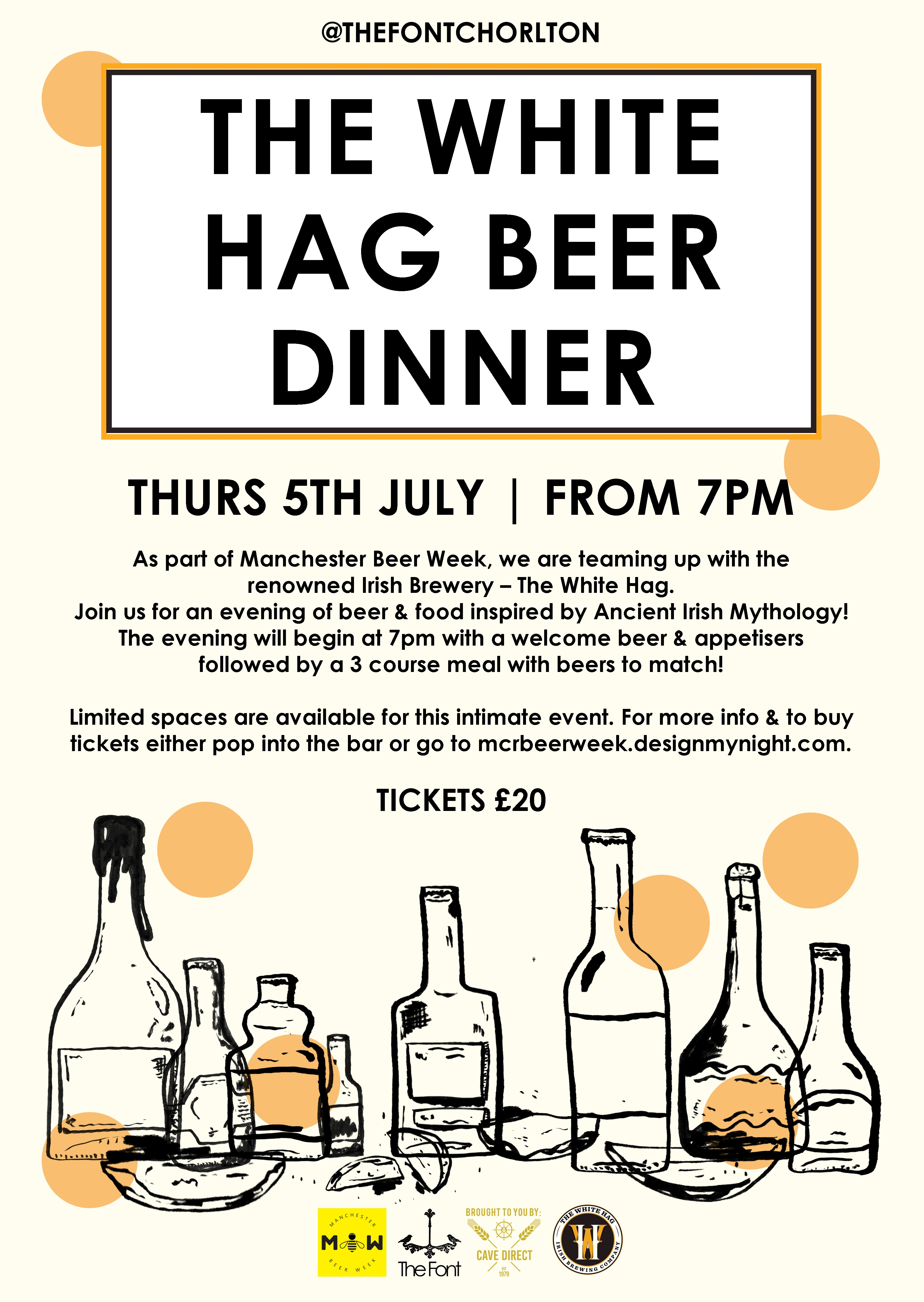 The White Hag Beer Dinner