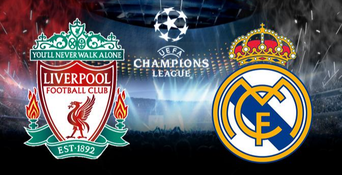 Liverpool x Real Madrid estatisticas champions