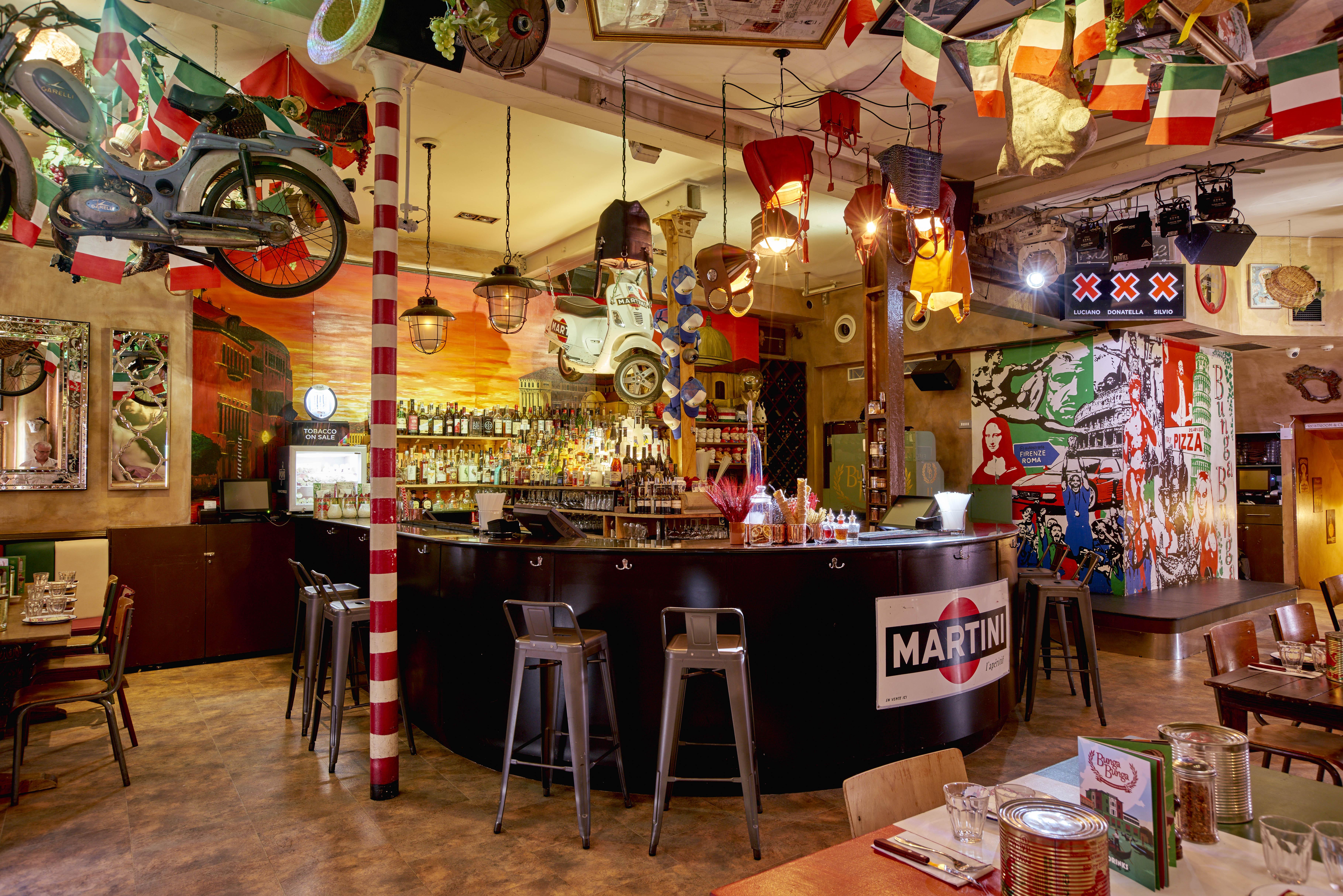 bunga bunga battersea bridge road london bar review