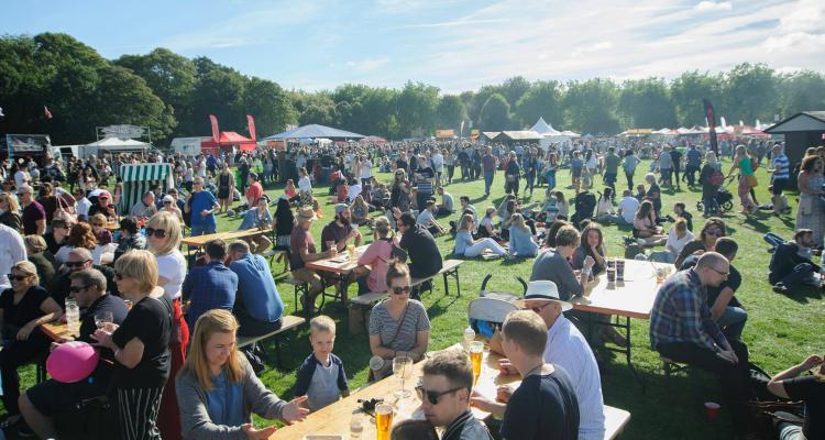 Manchester Eats Heaton Park