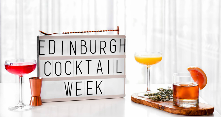 Edinburgh Cocktail Week 2018 Festival Square