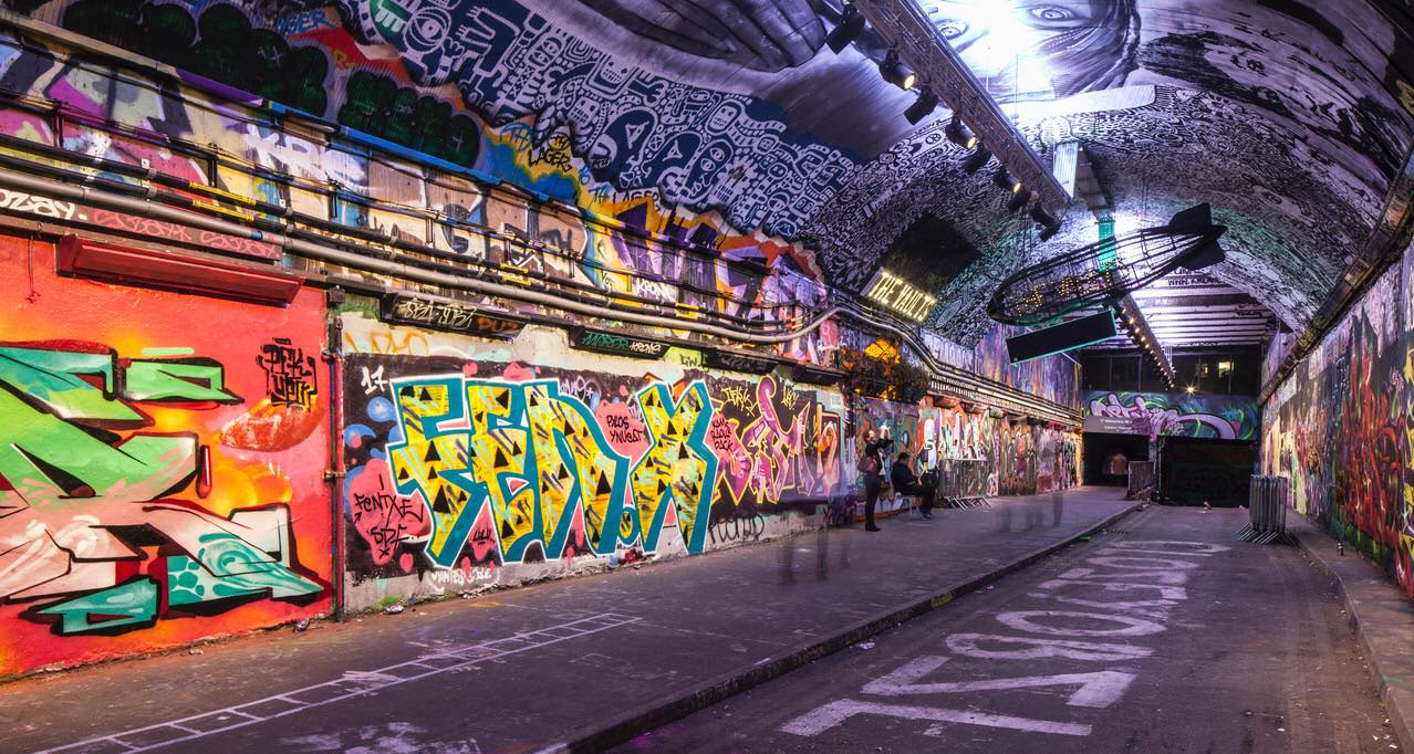 Leake street arches brings new life and business to graffiti tunnel