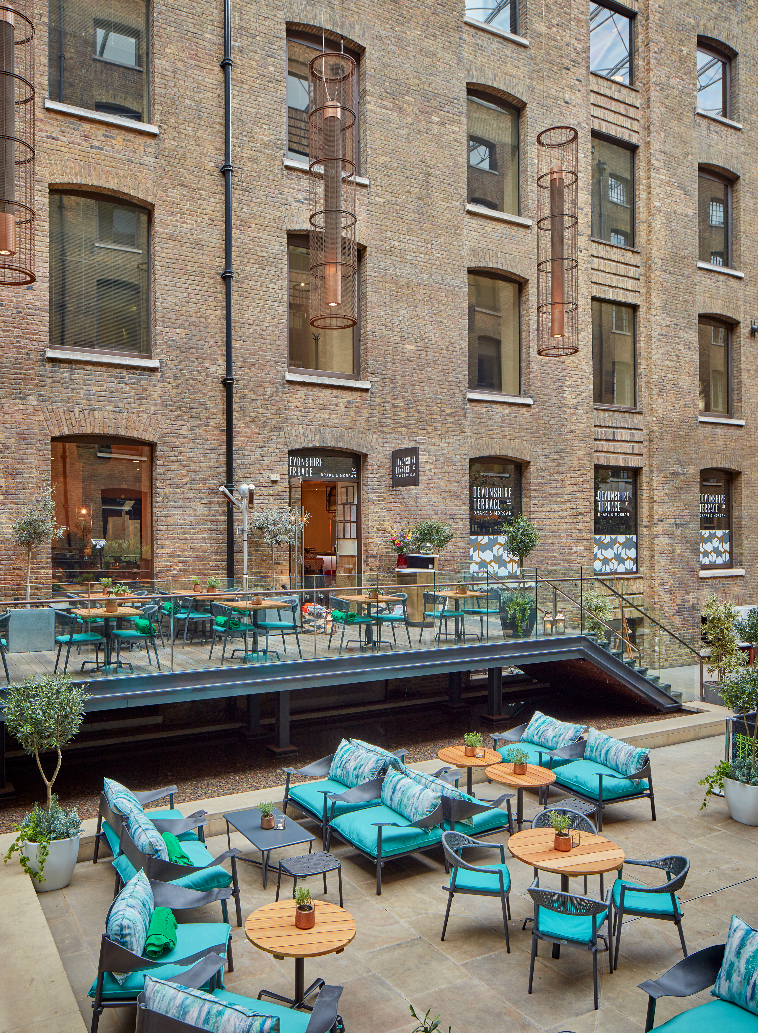 Devonshire Terrace Devonshire Square London Bar Reviews