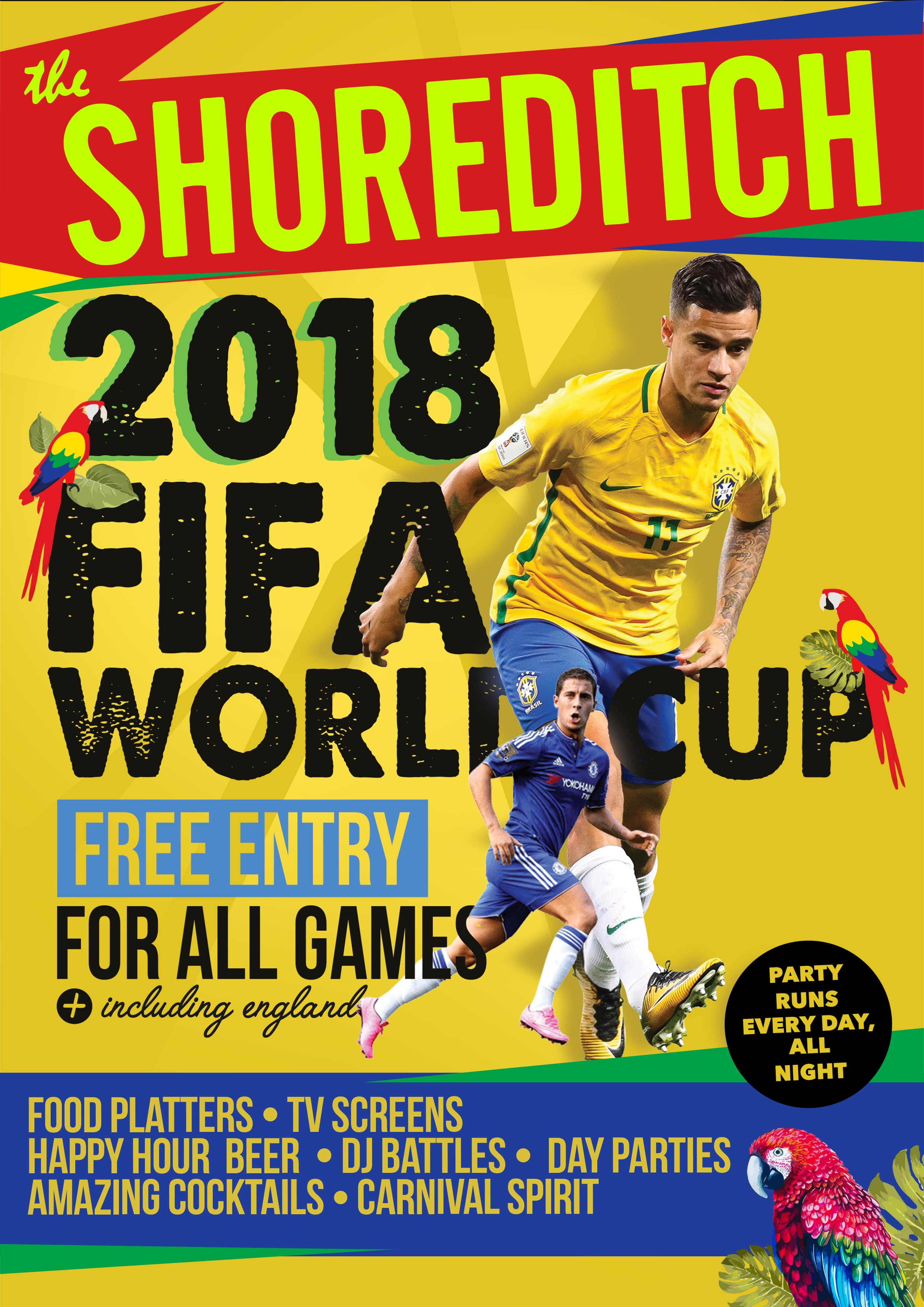 FIFA WORLD CUP 2018 AT THE SHOREDITCH