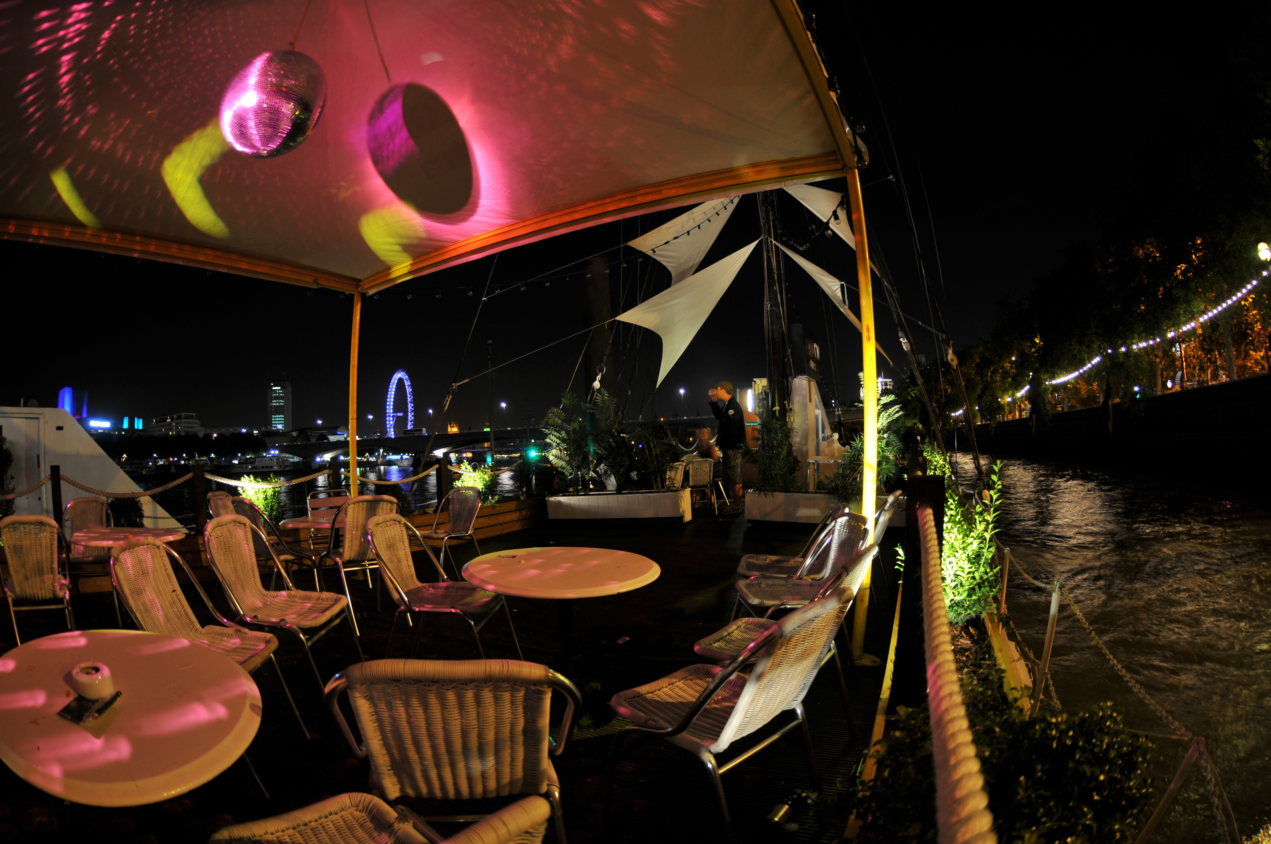 New Year's Eve Party On The Thames 2015