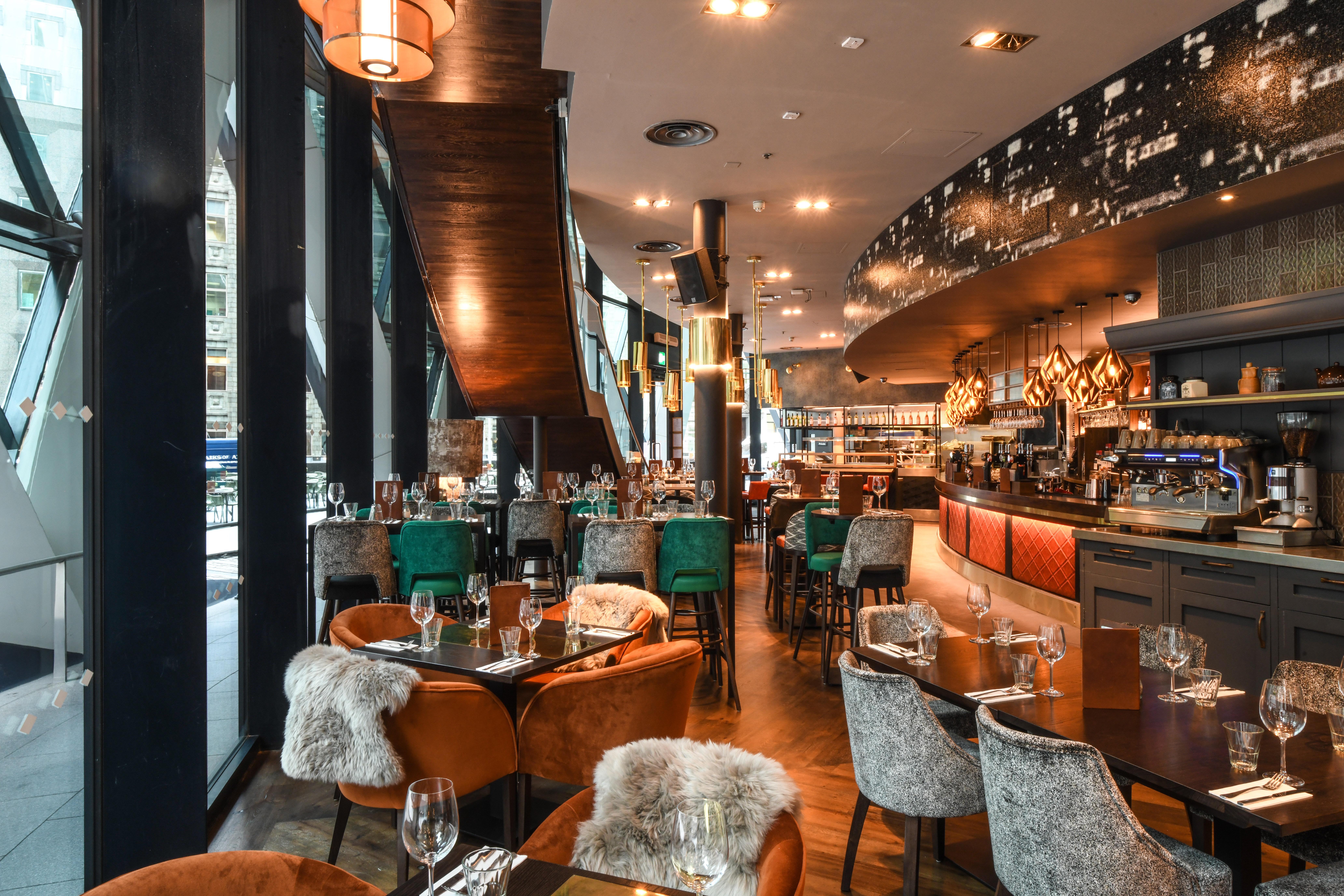 The Sterling Gherkin | London Bar Reviews | DesignMyNight