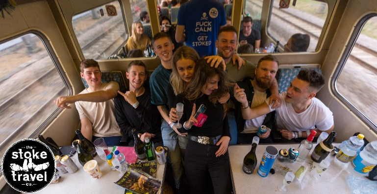 Stoke Travel - 24 Hour Hogmanay Party Train