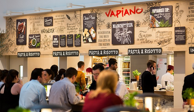 Vapiano Manchester The Corn Exchange