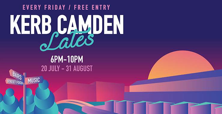 KERB Camden Lates: Food & Drink Offer