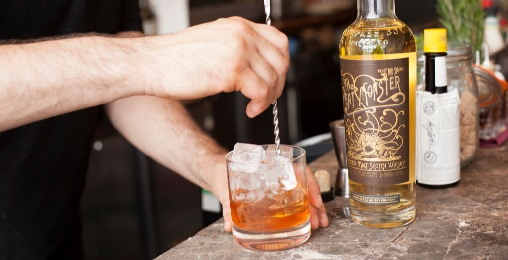 Compass Box Whisky and food pairing with Mark Hix