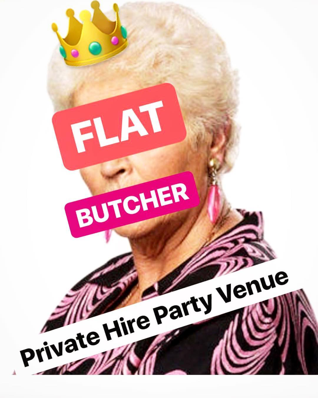 FLAT BUTCHER PRESENTS: THE 90S BOTTOMLESS BOOZY BRUNCH FLAT PARTY