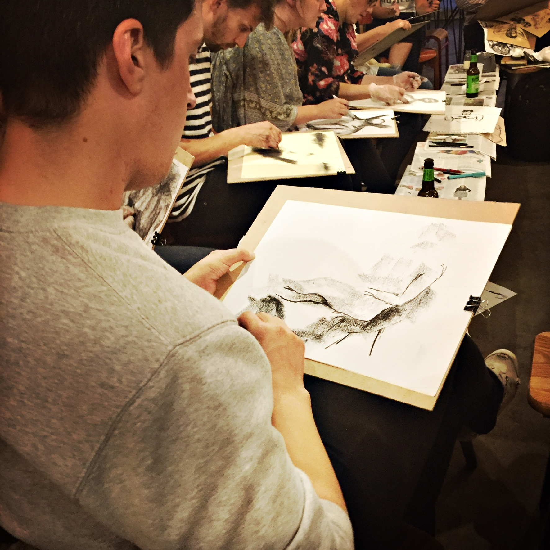 Life Drawing Wednesdays