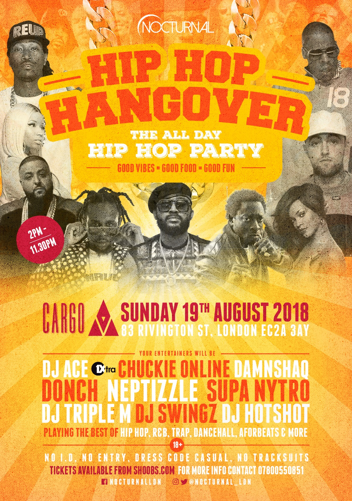 Hip Hop Hangover *Pre Carnival Warm up*