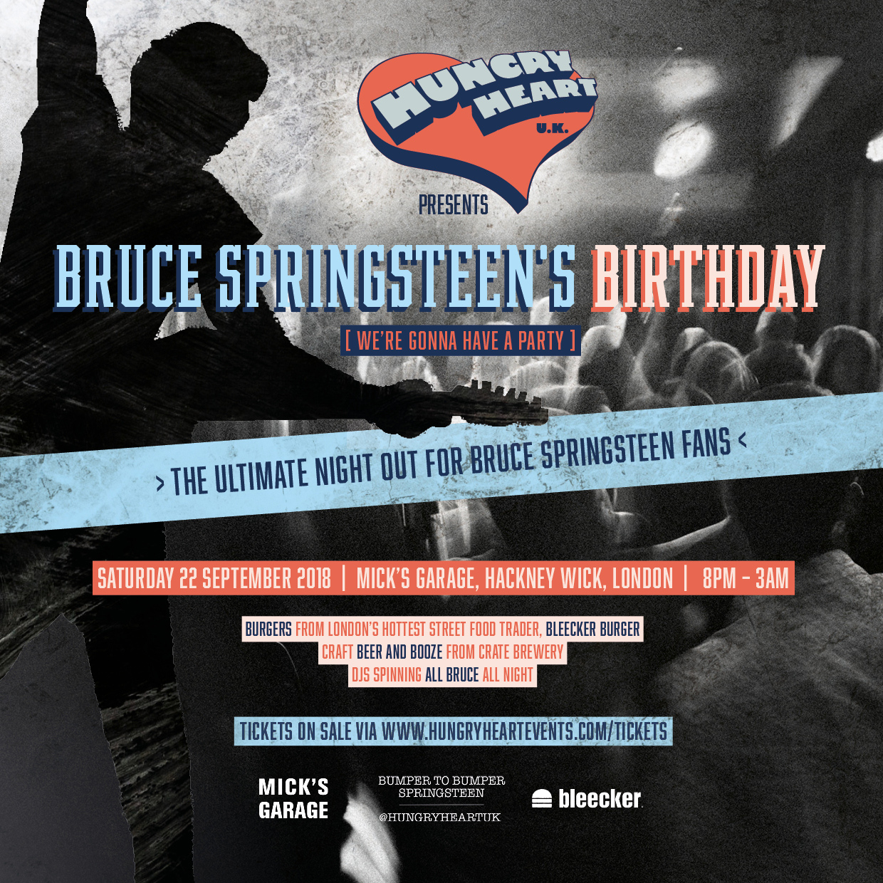 Hungry Heart presents Bruce Springsteen's Birthday