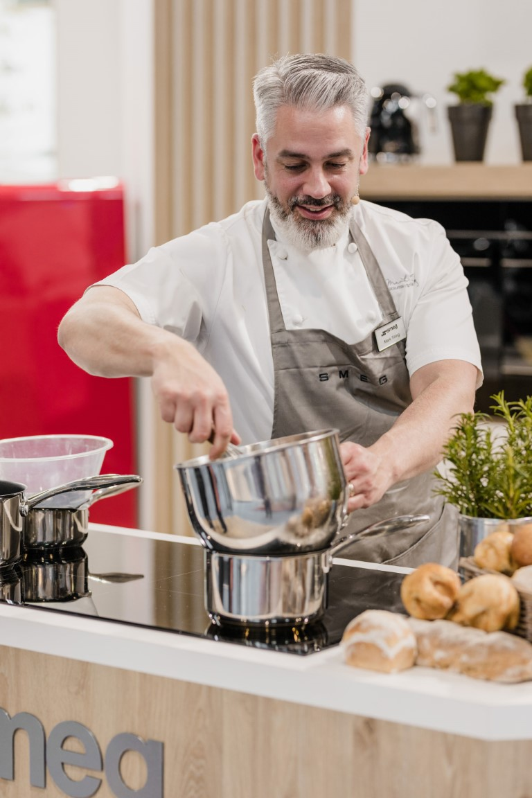 Smeg Chocolate Making Masterclass with 'Bake Off' Professional Winner Mark Tilling