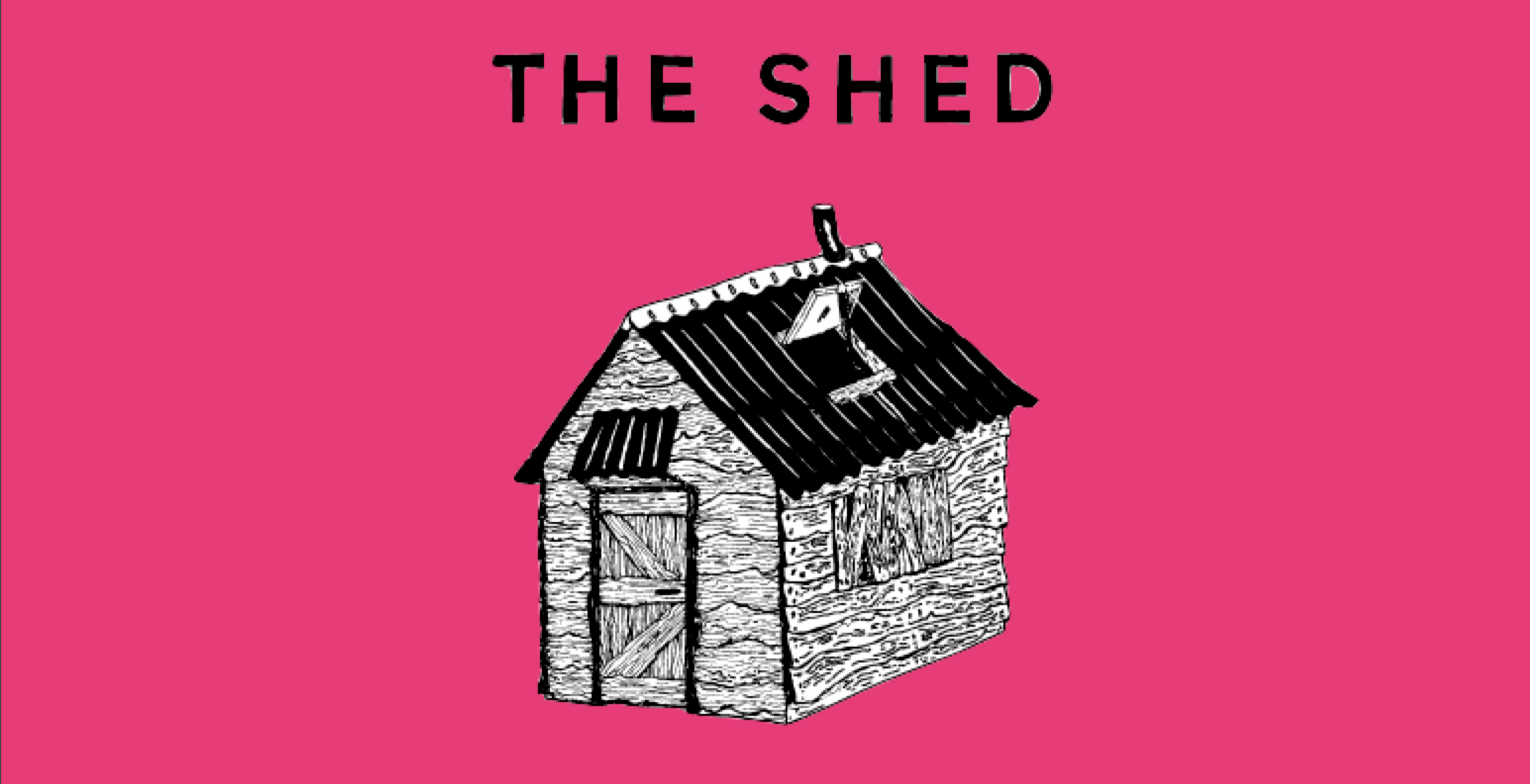 The Shed with Phoenician Blinds