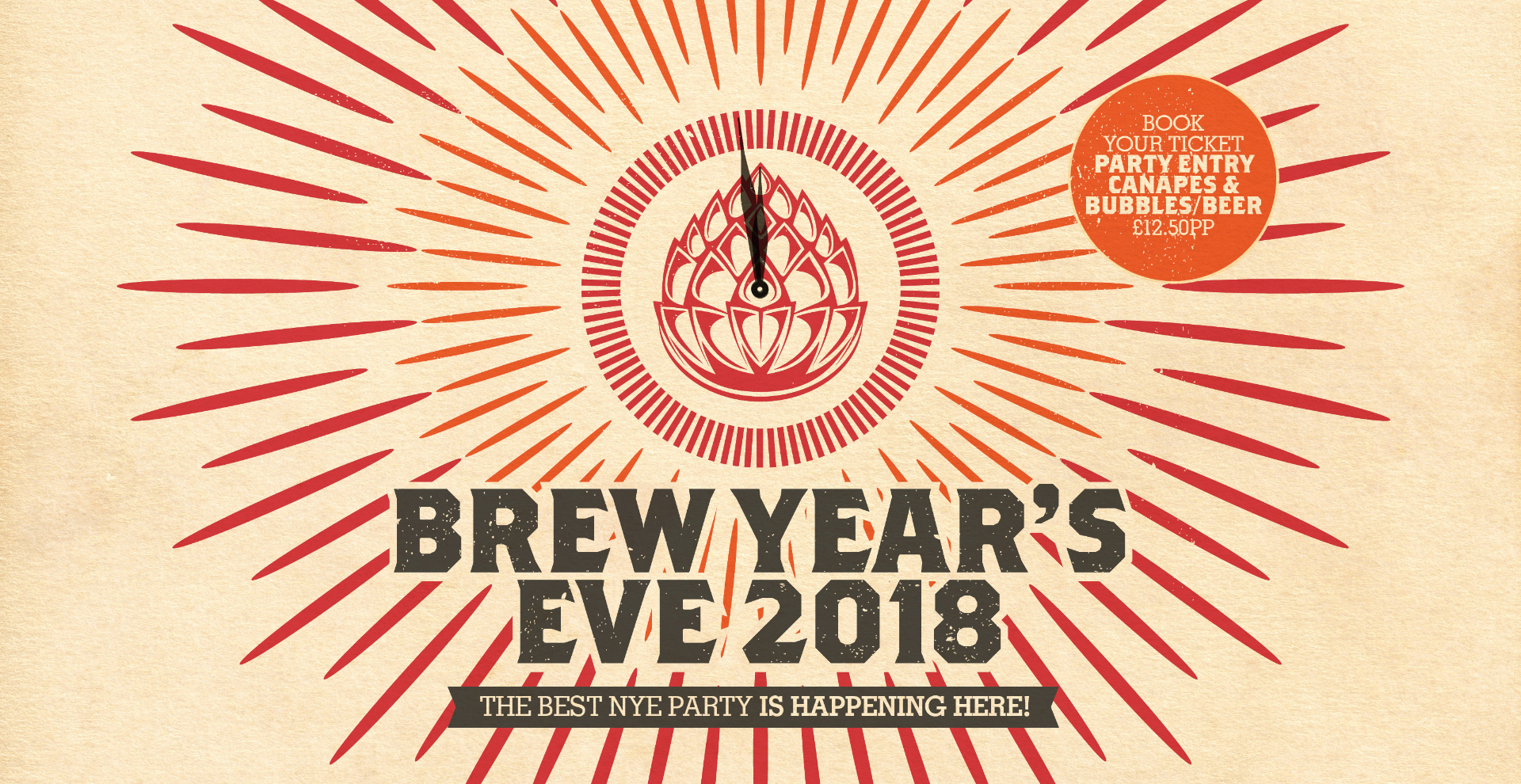 Brew Year's Eve - Bedford