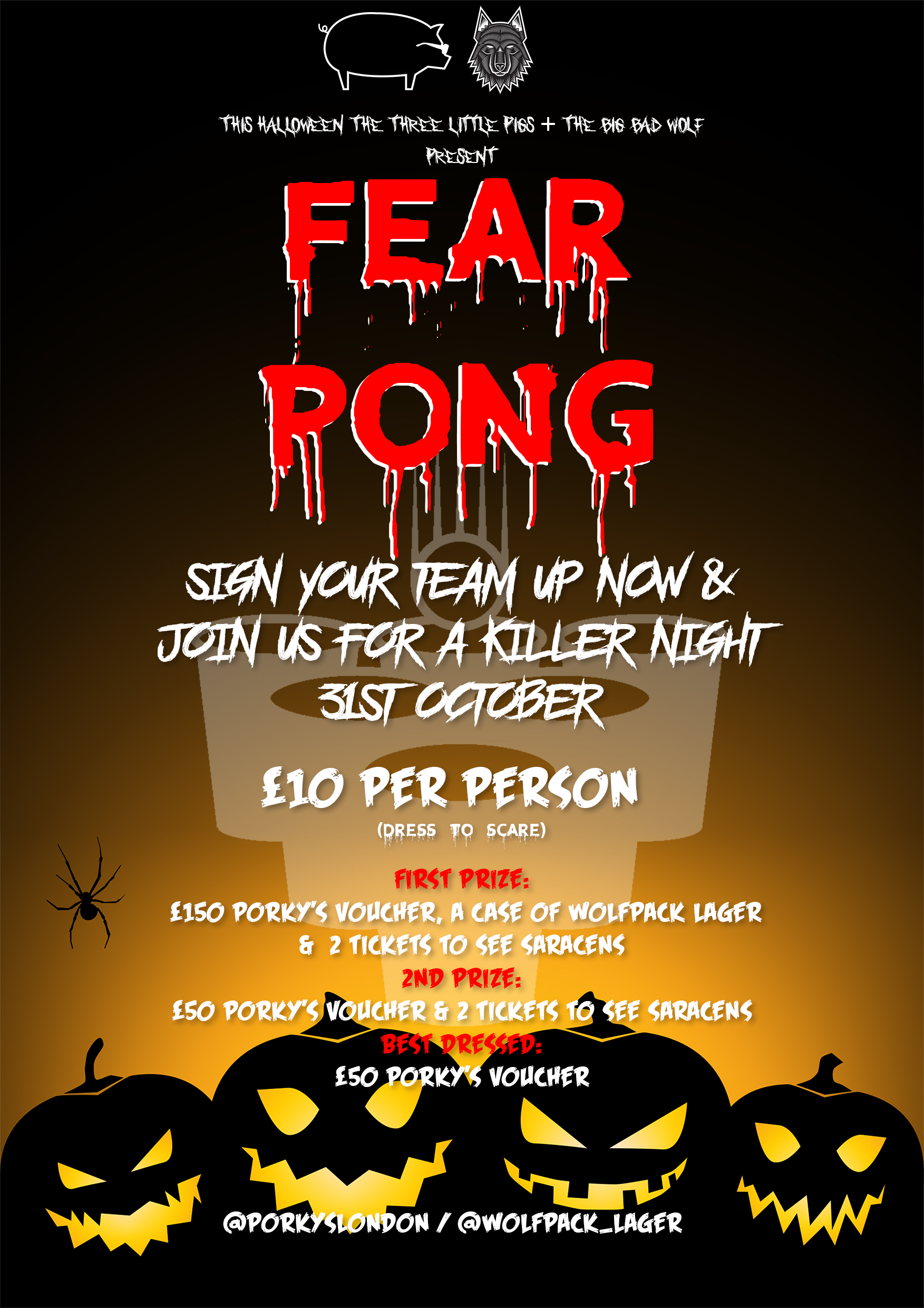 Porky's FearPong Tournament