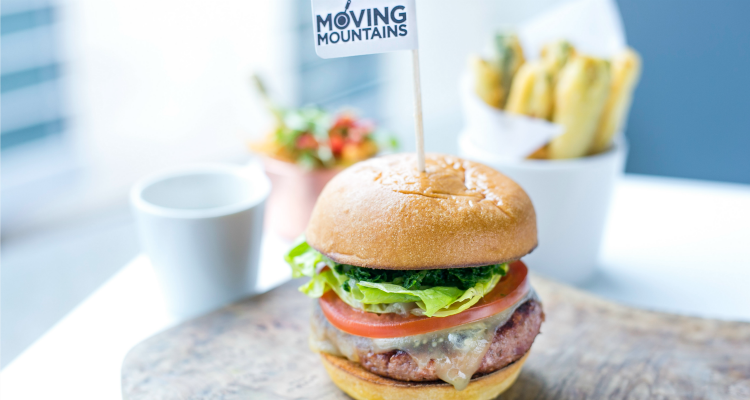 Moving Mountains Meat-Free Burgers