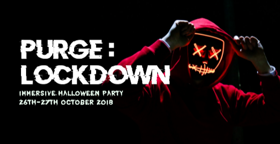 Purge: Lockdown Immersive Halloween Party
