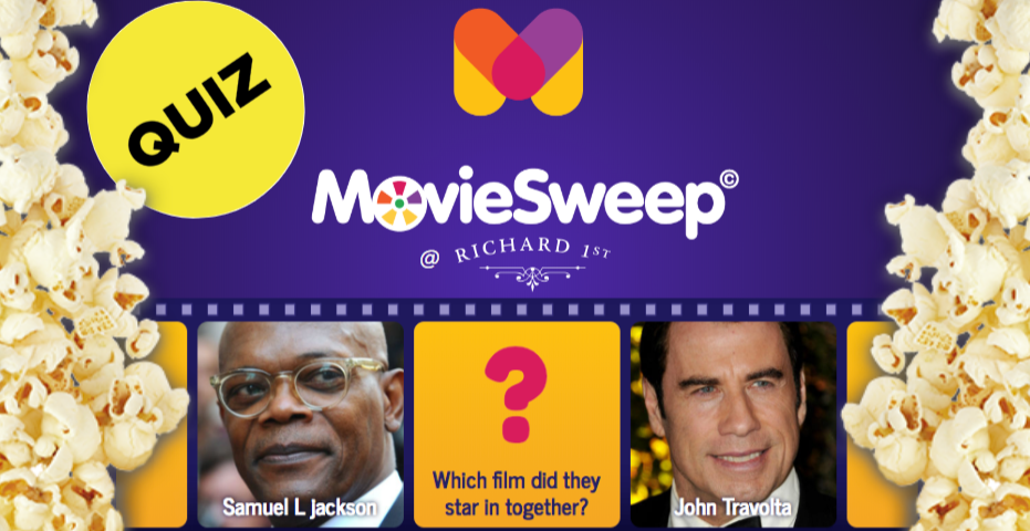 It's Quiz night with Movie Sweep!!