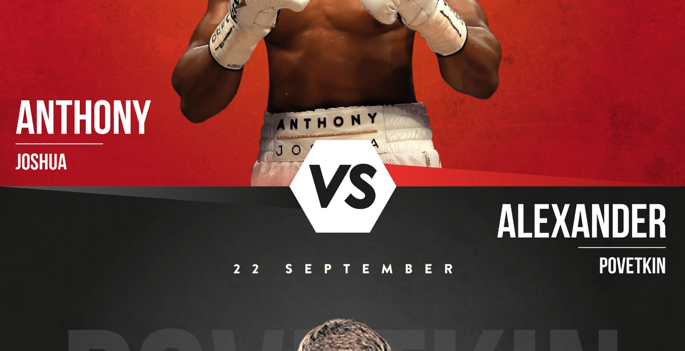 ANTHONY JOSHUA VS ALEXANDER POVETKIN FIGHT