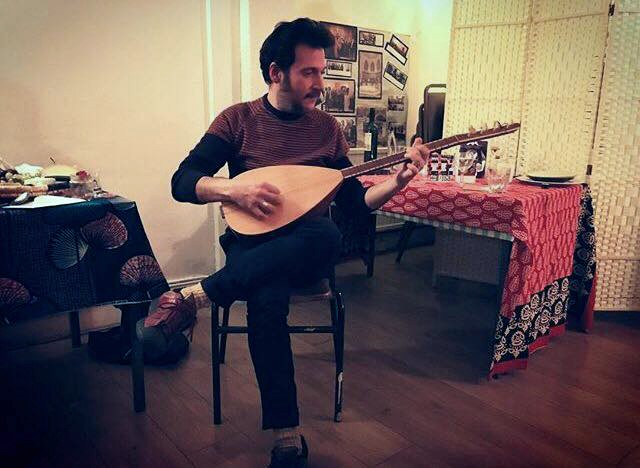 Supper and live session with Tasos Stamou & Mike Cooper