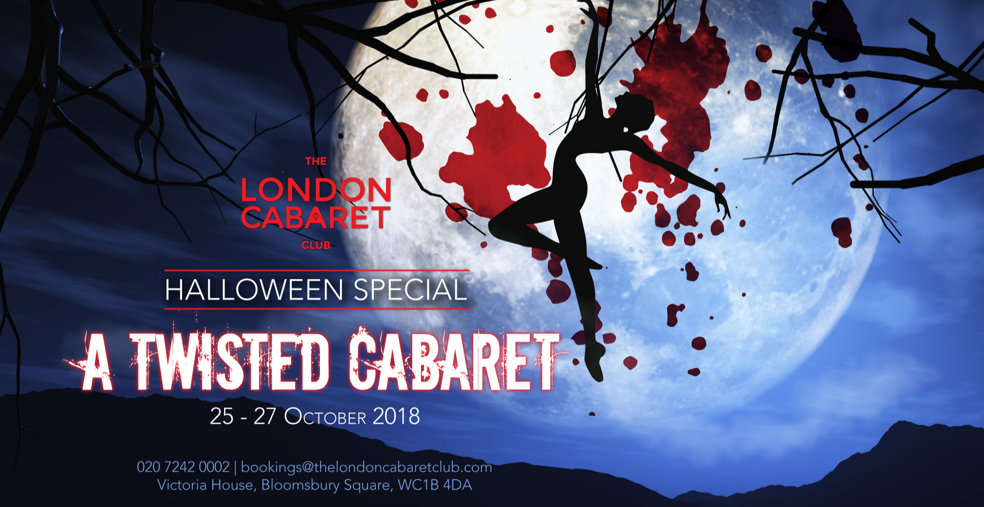 A Twisted Cabaret - Halloween Weekend
