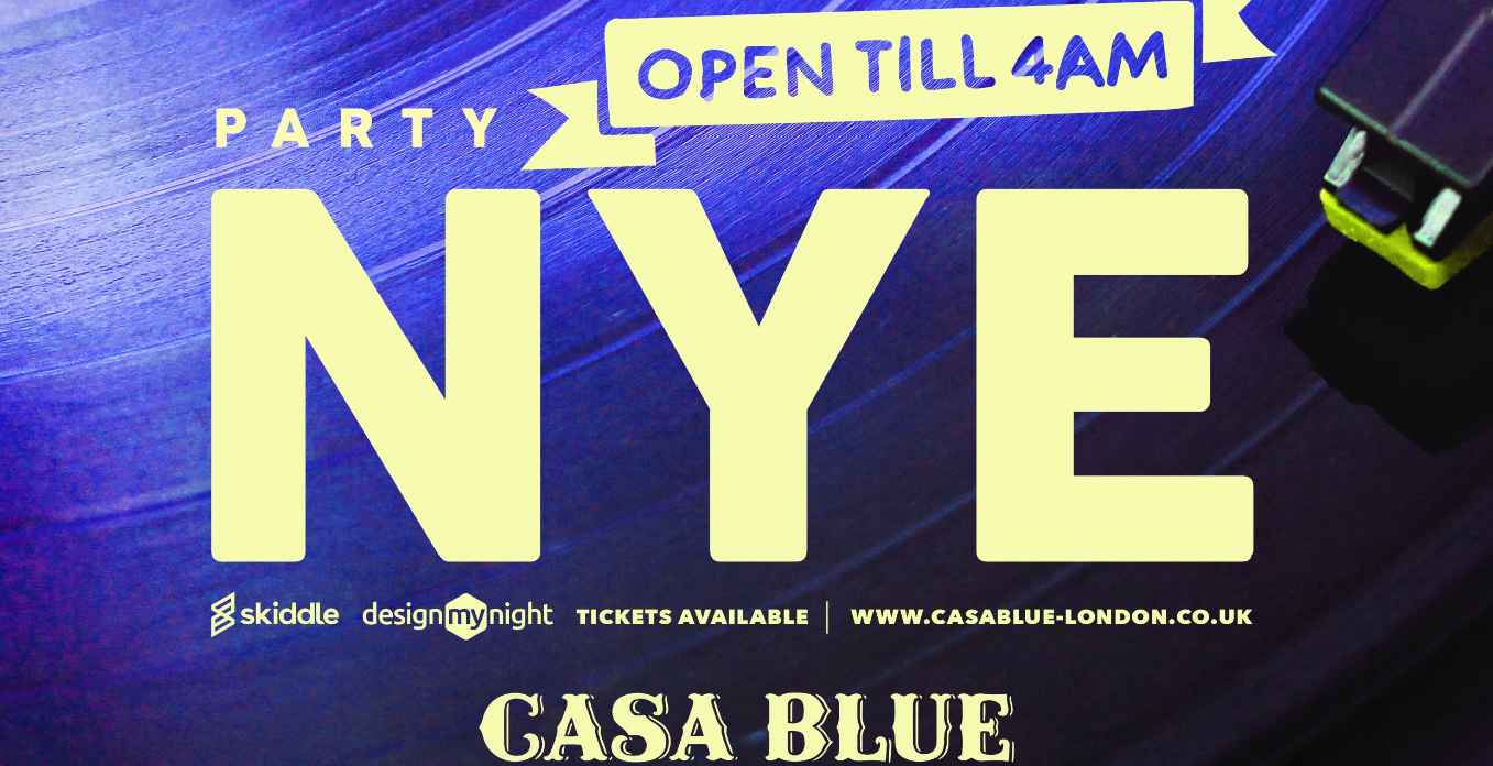 Casa Blue NYE Party