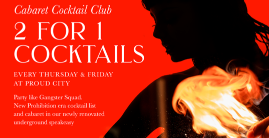Cabaret Cocktail Club Every Friday