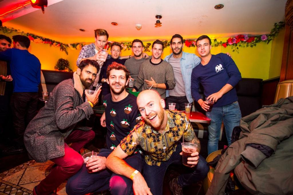 New years tiki party at The Shoreditch