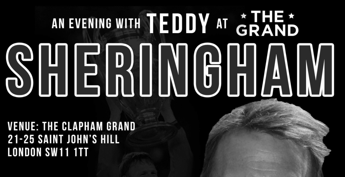 An Evening with Teddy Sheringham