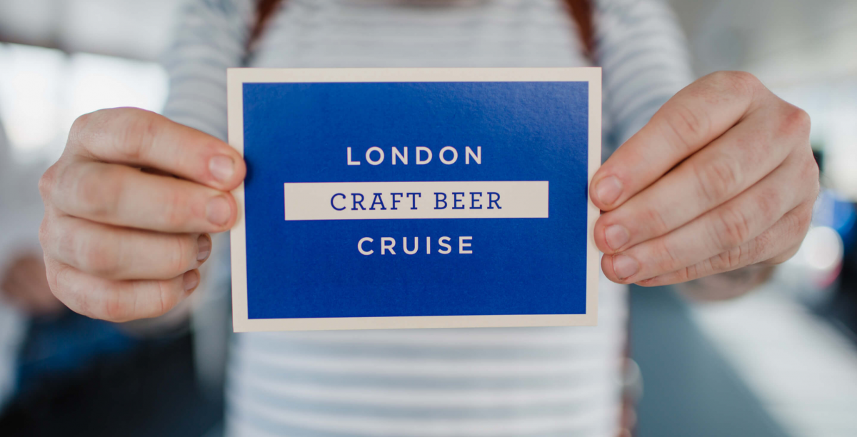 London Craft Beer Cruise Gift Voucher